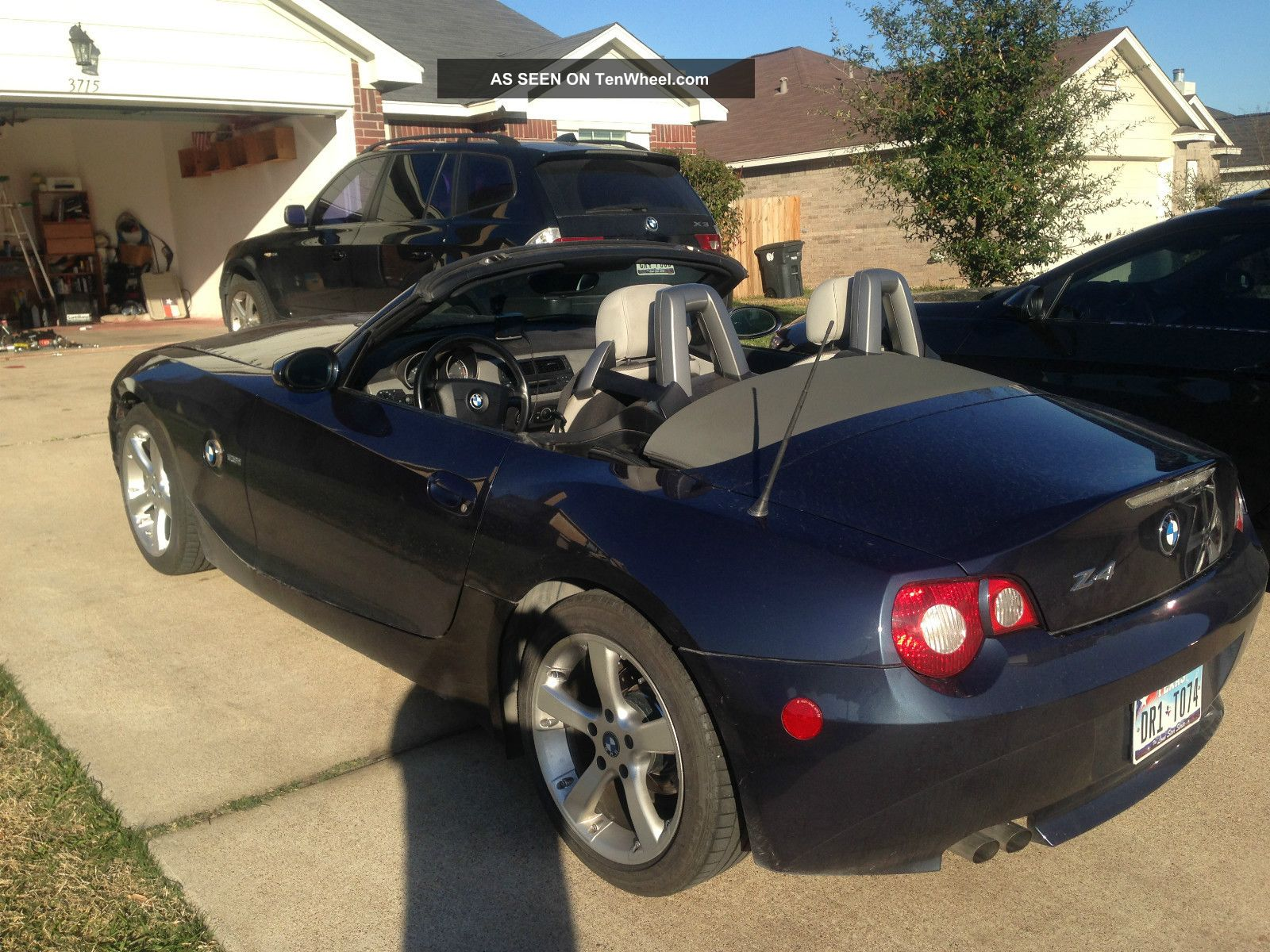 2005 Bmw Z4 2.  5i Convertible 2 - Door 2.  5l Z4 photo