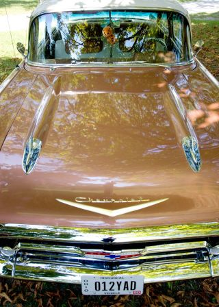 1957 Bel Air Chevy 2 Door Sedan photo
