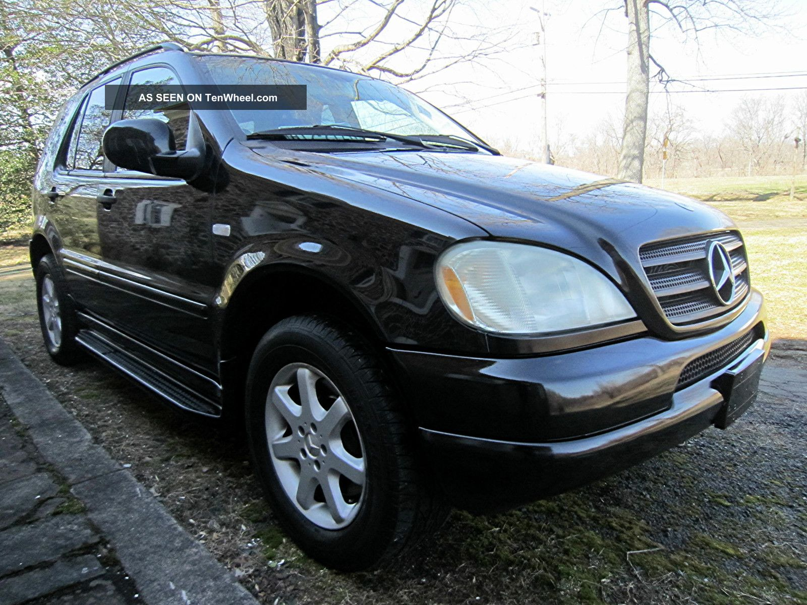 2001 mercedes benz ml430 base sport utility 4 door 4