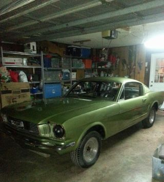 1966 Ford Mustang Fastback V8 Soild Project Garage Kept photo