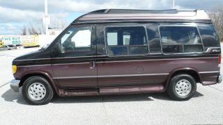 1995 Ford E - 150 Econoline Xl Standard Conversion 2 - Door 5.  0 L - Hightop Van photo