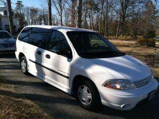 2003 Ford Windstar Ims Rampvan Mobility Van Very photo