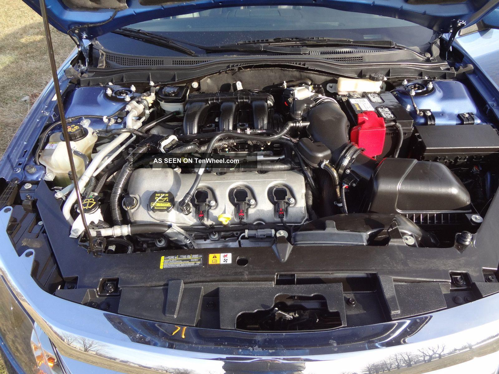 2010 Ford Fusion Sport 3 5l Moon Lhtr Rear Spoiler Bckup Snrs Rebuilt No Reserve