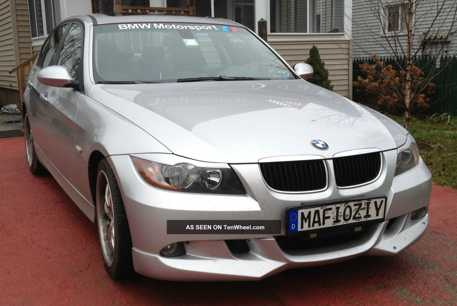 Bmw I Silver On Gray With Acs Kit Eyelids K Excellent Lgw