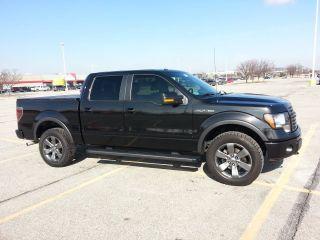 2011 F150 4wd 5.  0 Supercrew Black, ,  Dvd,  Tires Crew Cab,  Backup Cam photo