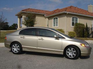2008 Honda Civic Lx Sedan 4 - Door 1.  8l photo