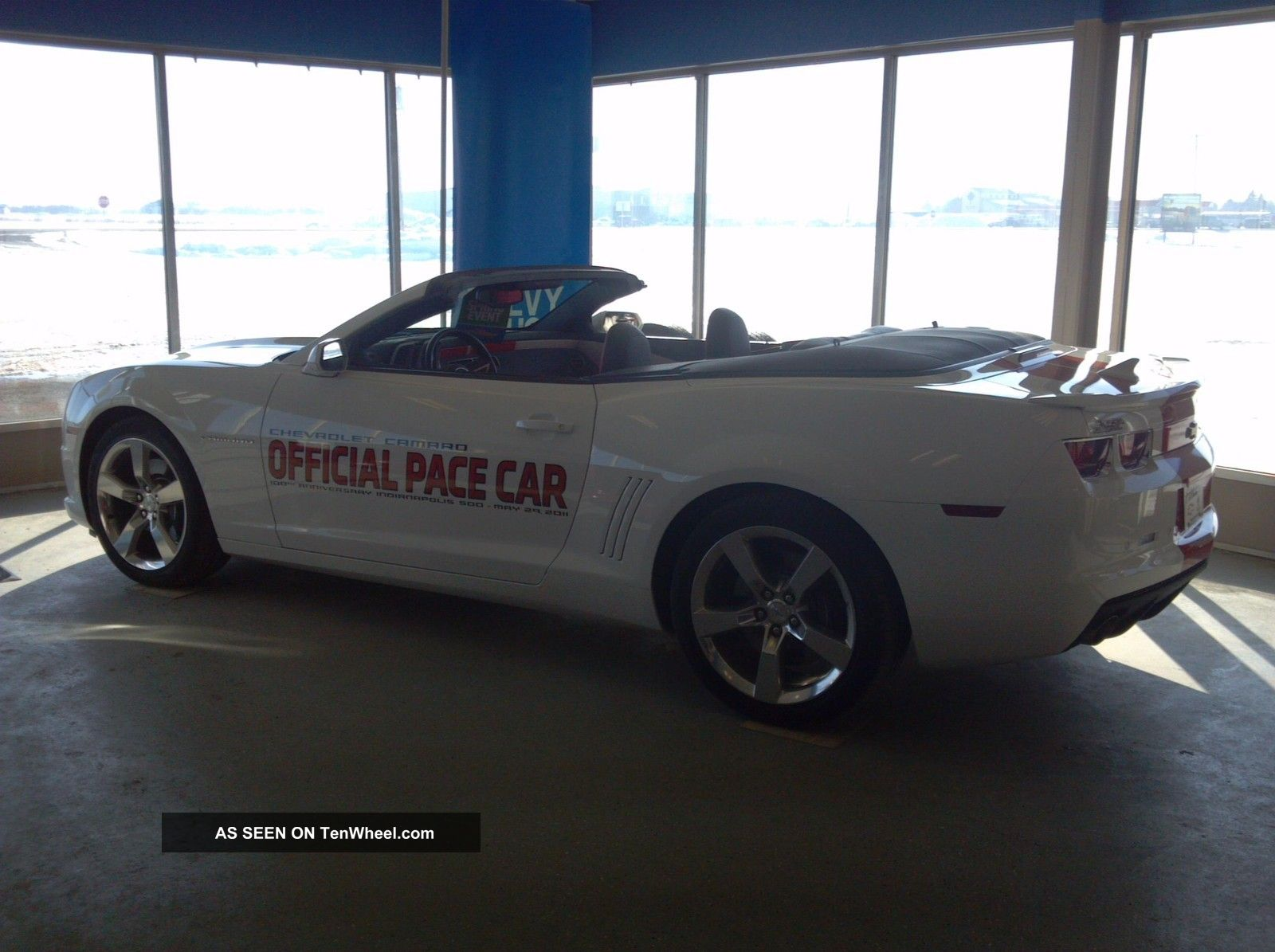 2011 chevy camaro indianapolis 500 pace car. Black Bedroom Furniture Sets. Home Design Ideas