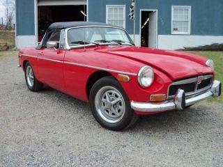 1974 Mgb Chrome Bumper photo