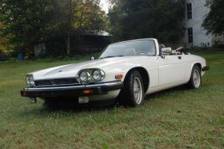 1989 Jaguar Xjs Convertible photo