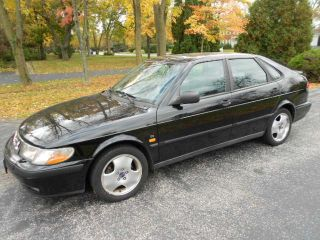 1999 Saab 9 - 3 Se Sedan / Hatchback Black / Black  - 2.  0 - Il4 Turbo photo