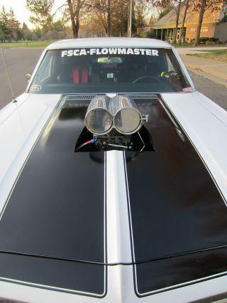 1968 Chevrolet El Camino Black Plate California Ca 1965 1966 1967 1967 1970 1971 photo