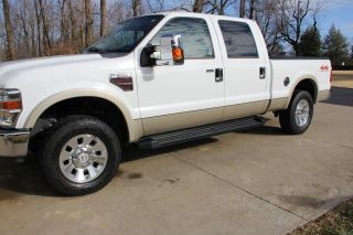 2008 Ford 250 Duty Crew Cab - Fx4 - 6.  4l Turbo Diesel photo