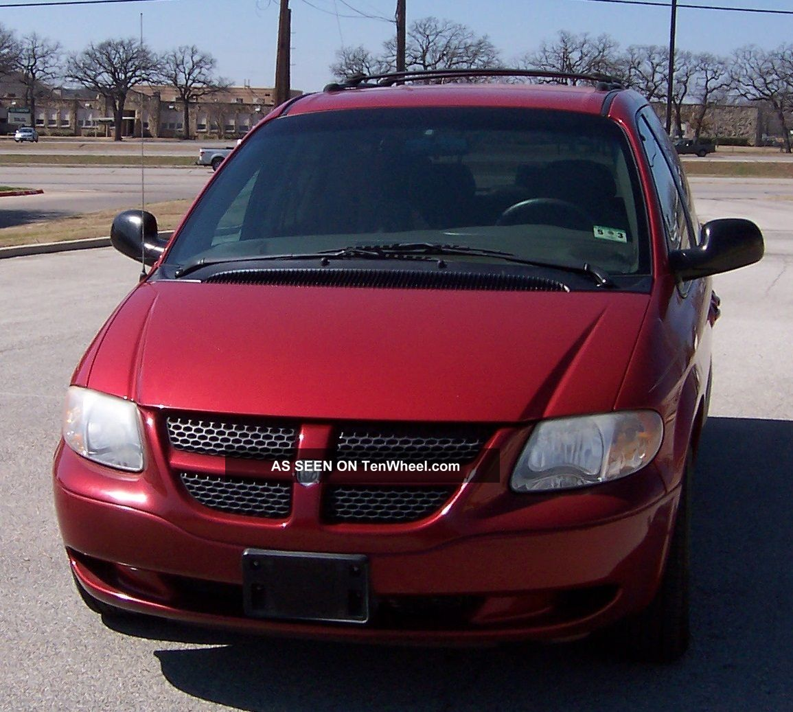2003 dodge grand caravan sport inside and out runs and drives grand. Cars Review. Best American Auto & Cars Review