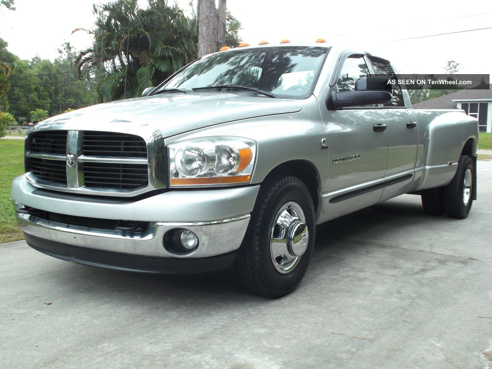 2006 dodge ram 3500 5 9 cummings diesel quad cab dually 2wd slt with tow pack. Black Bedroom Furniture Sets. Home Design Ideas