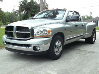 2006 Dodge Ram 3500 5.  9 Cummings Diesel Quad Cab Dually 2wd Slt With Tow Pack photo