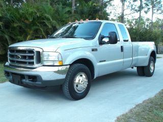 2002 Ford F - 350 Cab Dually 7.  3 Litre Powerstroke Diesel 2wd Xlt photo