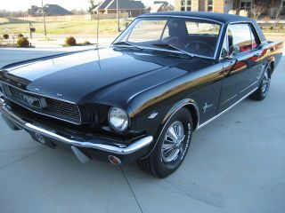 1966 Mustang Coupe 289 Automatic photo