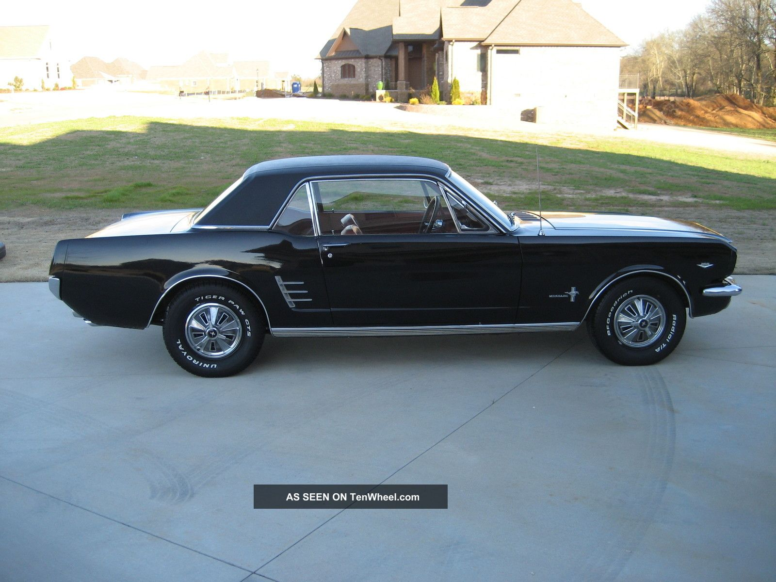 1966 mustang coupe 289 automatic. Black Bedroom Furniture Sets. Home Design Ideas