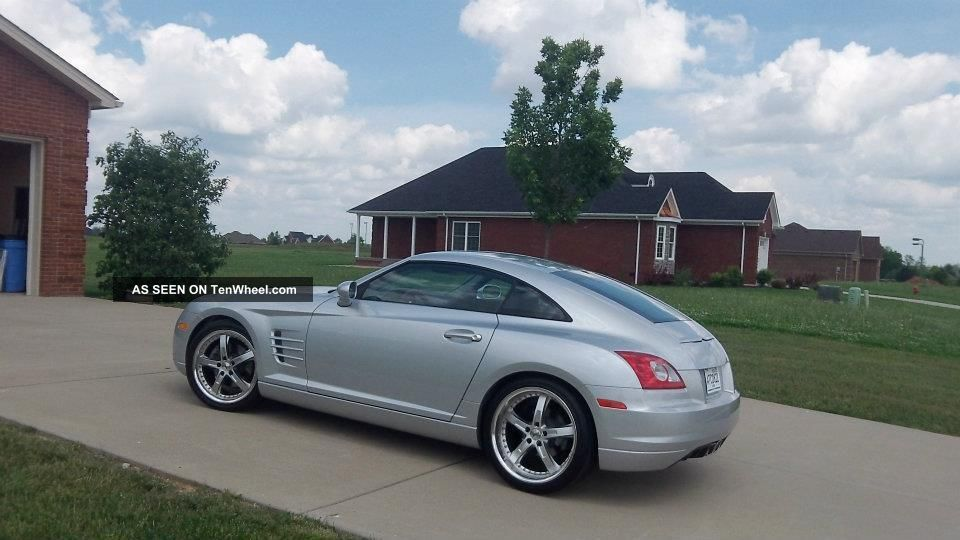 2008 Chrysler Crossfire Limited Coupe 2 Door 3 2l