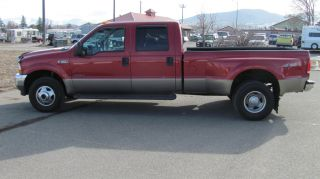 2002 Ford F 350 Crew Cab Diesel 4x4 photo