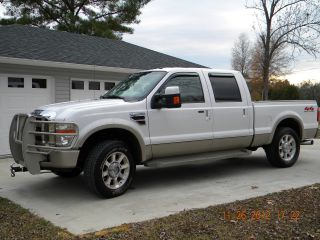 2008 Ford F - 250 Duty King Ranch Crew Cab Pickup 4 - Door 6.  4l - Fully Loaded photo