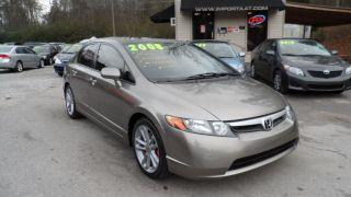2008 Honda Civic Si Sedan 4 - Door 2.  0l photo