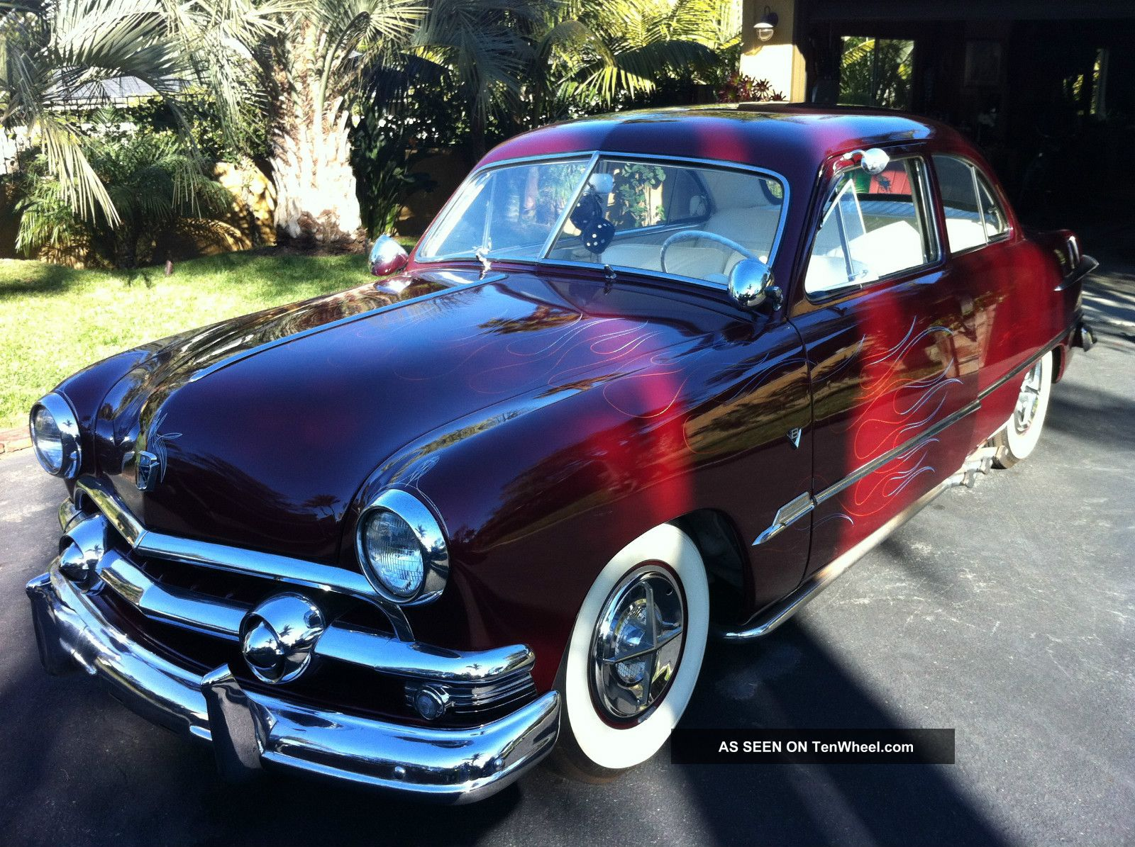 1951 ford custom coupe for 1951 ford 2 door coupe