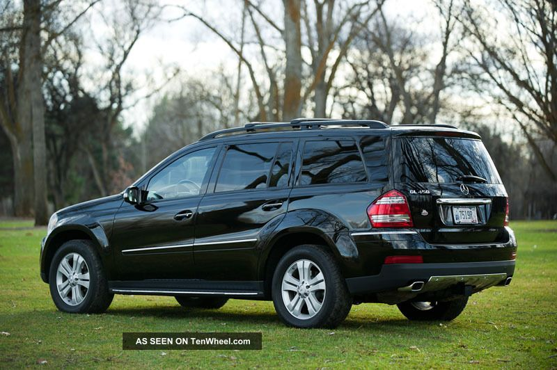 2007 mercedes benz gl450 gl 450 4matic awd 3rd row seat rear dvd seats 7 blk. Black Bedroom Furniture Sets. Home Design Ideas