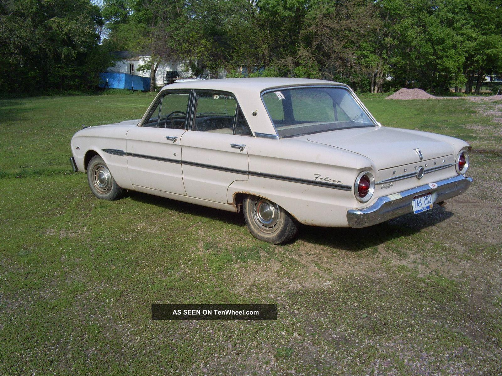 466 1963 ford falcon futura 260 v8   very good  all