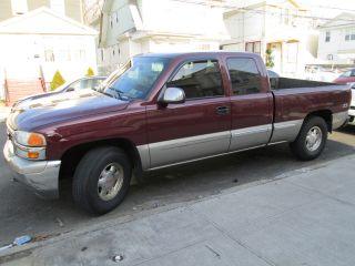 2002 Gmc Sierra 1500 Sle Extended Cab Pickup 4 - Door 5.  3l photo