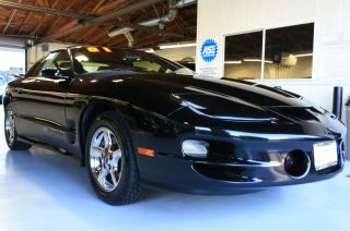 2001 Pontiac Firebird Trans Am Coupe 2 - Door 5.  7l T - Top Black / Charcoal photo