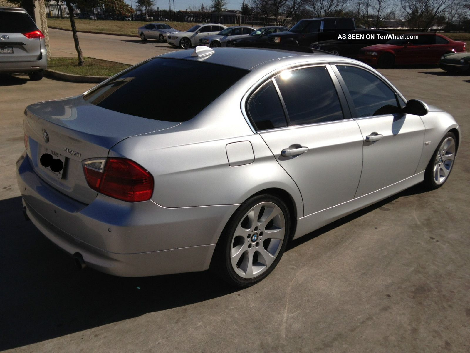2007 bmw 335i base sedan 4 door turbo sport package. Black Bedroom Furniture Sets. Home Design Ideas