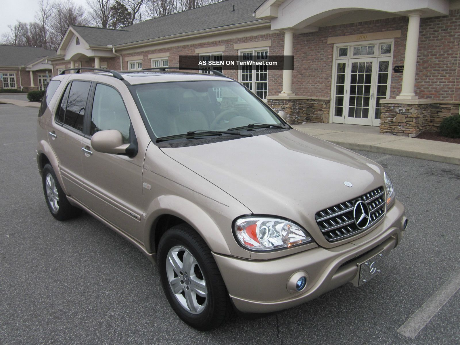 2010 spec updated 2001 ml320 mercedes benz suv sport w for Mercedes benz suv 2001
