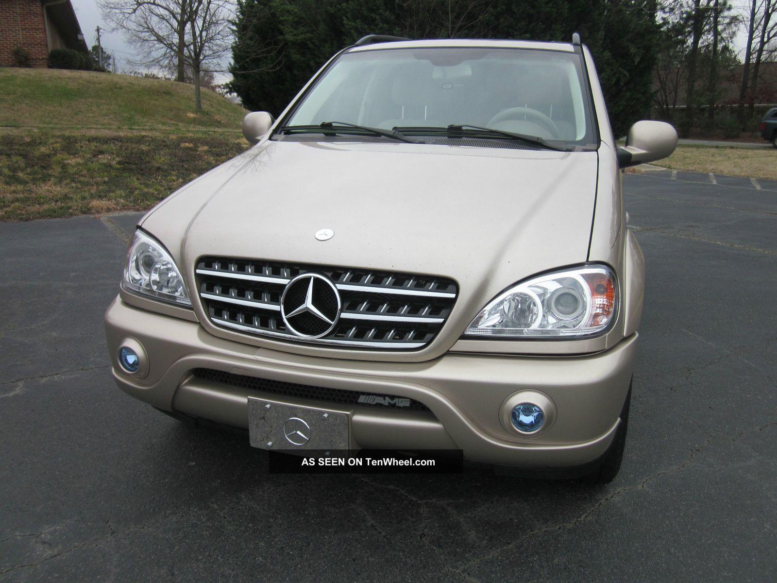 2010 Spec Updated 2001 Ml320 Mercedes Benz Suv Sport W