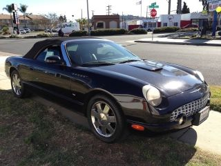 2003 Ford Thunderbird Convertible.  Loaded W / Options photo