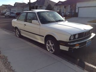 1988 Bmw 325ix E30 Coupe All Wheel Drive 5 Speed Rare Alpineweiss All photo