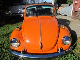 1973 Volkswagen Beetle Base 1.  6l photo