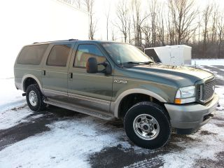 2004 Ford Excursion Eddie Bauer Sport Utility 4 - Door 6.  0l photo