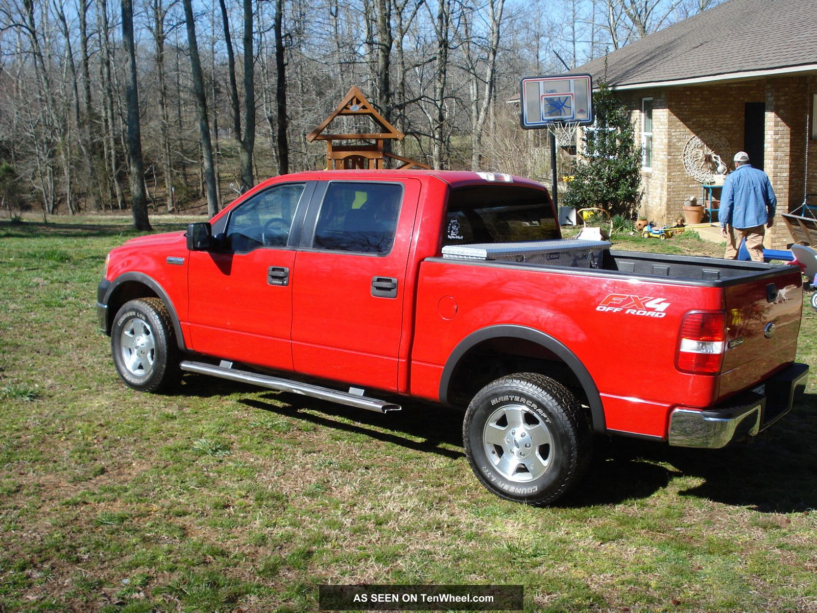 2006 ford f 150 fx4 4 x 4 crew cab. Black Bedroom Furniture Sets. Home Design Ideas