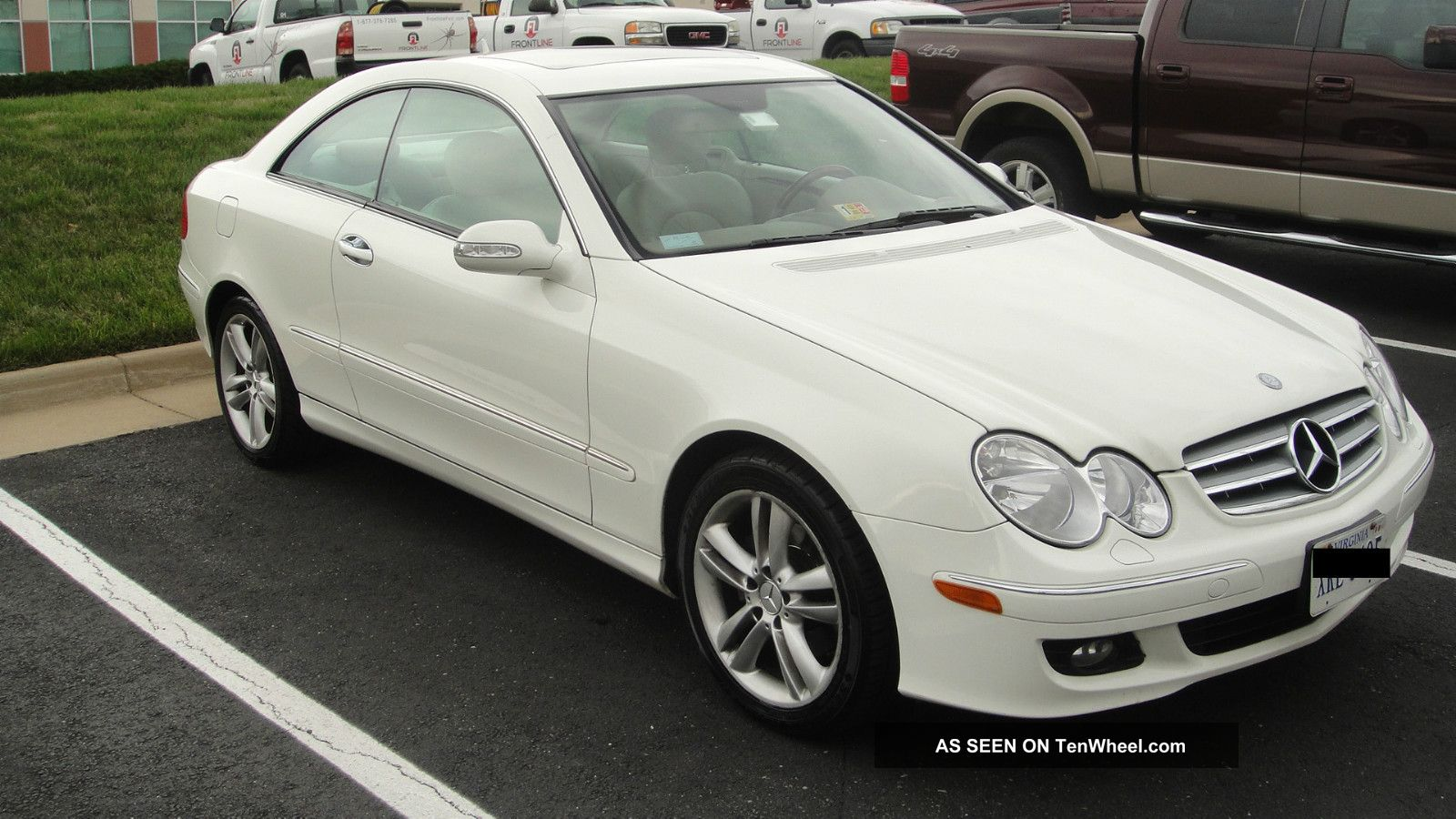 2007 mercedes benz clk350 base coupe 2 door 3 5l