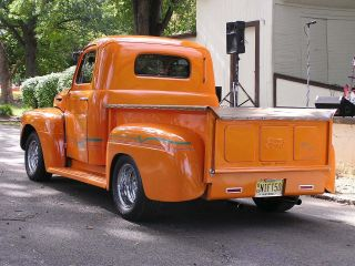 1950 Ford F1 Pick Up,  Street Rod,  350,  350, photo