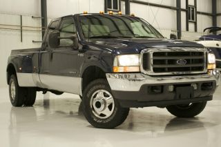 2003 Ford F350 Dually Diesel 7.  3 photo