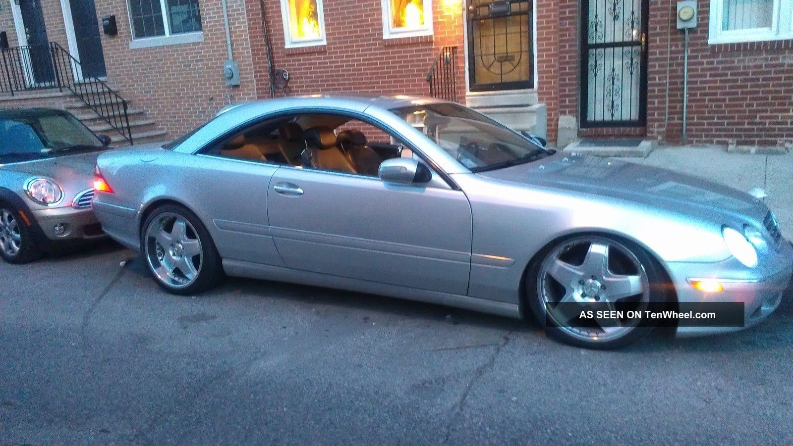 2000 mercedes benz cl500 base coupe 2 door 5 0l for Mercedes benz 2 door coupe