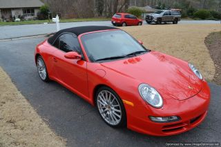 2007 Porsche 911 Carrera S Convertible 2 - Door 3.  8l Flawless photo