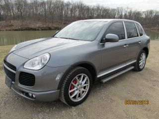 2004 Porsche Cayenne Turbo Sport Utility 4 - Door 4.  5l photo