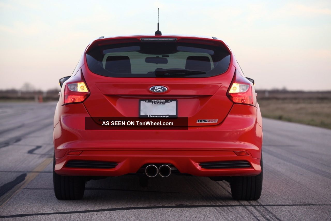 2013 hennessey ford focus st hpe300 300 hp performance upgraded turbo. Black Bedroom Furniture Sets. Home Design Ideas
