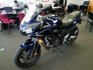 2008 Yamaha Fz6 Sport Bike photo