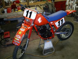 1985 Honda Xr250 - R Dirtbike photo
