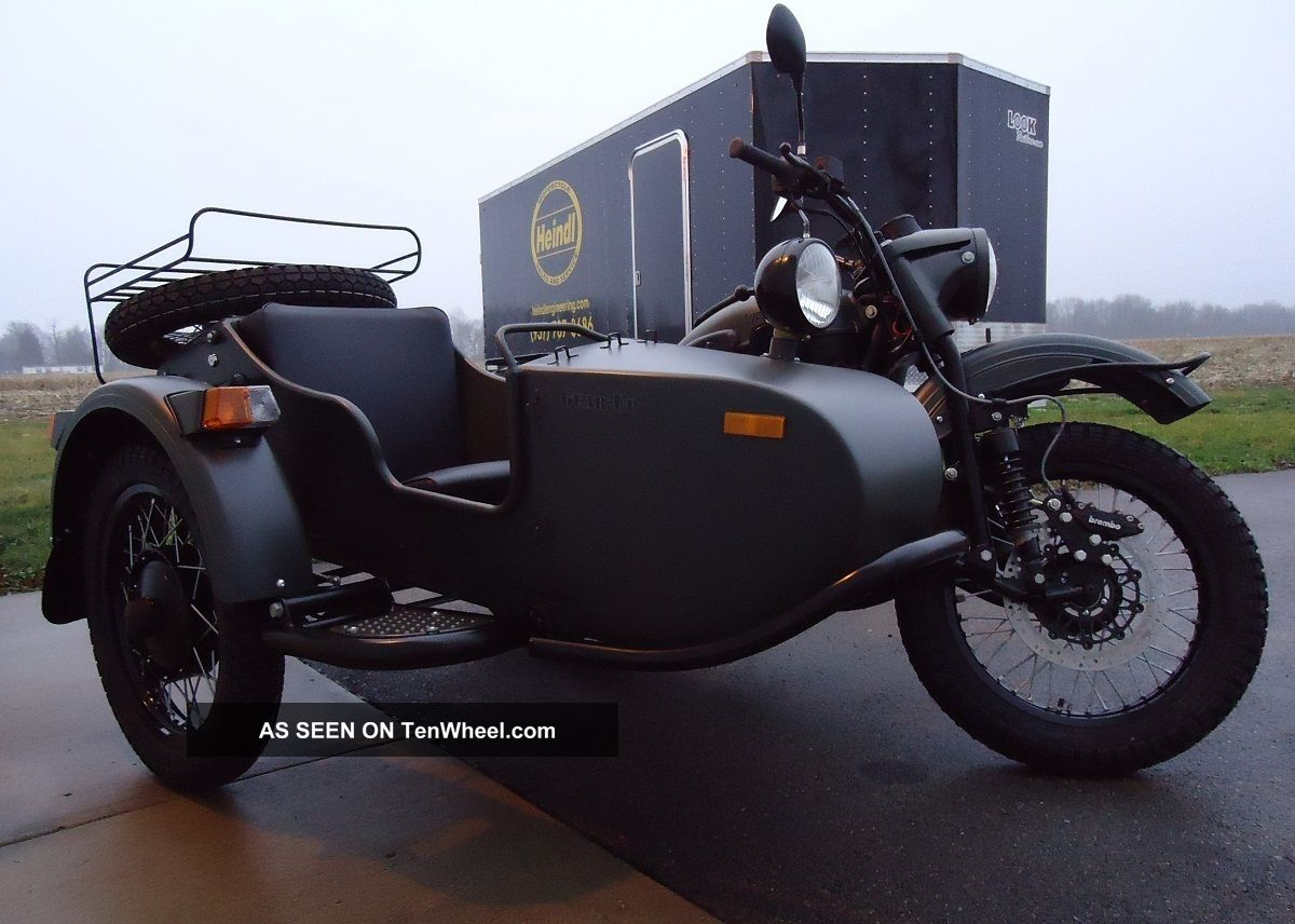 2013 Ural Sidecar Motorcycle Forest Fog Gearup Ural photo