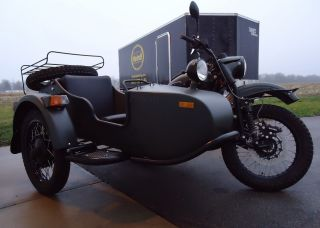 2013 Ural Sidecar Motorcycle Forest Fog Gearup photo